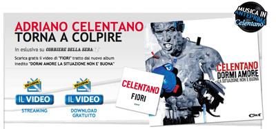 Adriano Celentano Fiori