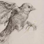 RvB-Arts_Cornelia-Badelita_la-Margheritina_timbro-e-acrilico-su-tela_100x150cm_light