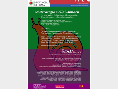 Roma: La strategia della lumaca / BiDeCeinge