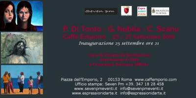 Roma: Di Tonto, Nubila e Scanu al Caffè Emporio