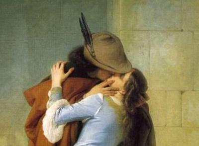 Francesco Hayez, Il bacio (Milano, Pinacoteca di Brera)