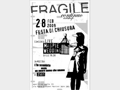 Festa di chiusura a Bologna per FragileContinuo