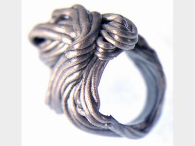 Gaetano Pesce, Spaghetti ring,1985