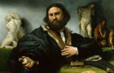 Ritratto di Andrea Odoni, di Lorenzo Lotto