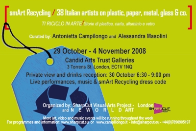 Londra: smArt Recycling/ Ti riciclo in Arte