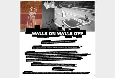 Walls on Walls off: street art e cultura contemporanea a Pisa